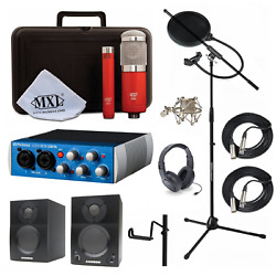 Home Studio MXL 550551R Presonus AudioBox USB Samson Media ONE BT3 Speakers