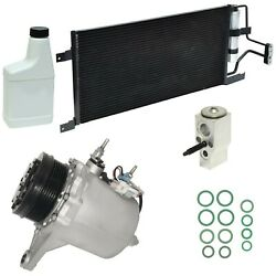 RYC Reman Complete AC Compressor Kit GG499 (With Condenser)