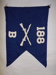 Flag956 Ww2 Us Army Airborne Guide On 188 Parachute Infantry Regiment B Co Ir43b
