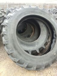 One 13.6x38, 13.6-38 8 Ply Farmall H Deere A An B Tractor Tire With Tube