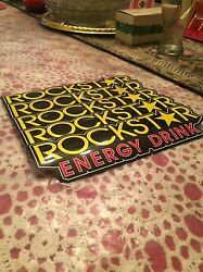 5 Authentic New Rockstar Energy Drink Stickers Decal / Sign / Logo Bmx Motocross