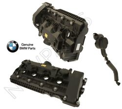 For Bmw E60 E63 E65 Pair Left And Right Cylinders 5-8 And 1-4 Vent Hose Vent Valve