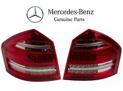 For Mercedes X164 Gl-class Pair Set Of Left And Right Taillight Assemblies Genuine