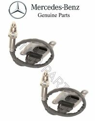 For Mercedes W212 E400 X204 Glk350 Pair Set Of 2 Nitrogen Oxide Sensors Nox