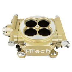 Fitech Fuel Injection System 30005 Easy Street 600 Hp Throttle Body Gold Cast