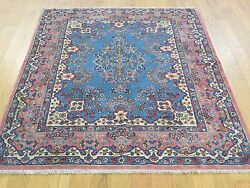 3and03910x5and039 Antique Farsian Karman Full Pile Mint Cond Hand-knotted Rug R32158