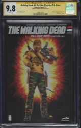Walking Dead All Out War Chapters 3 And 4_cgc 9.8 Ss_signed Andrew Lincoln Rick