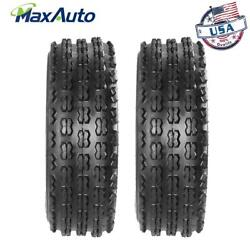 Set Of 2 22x7x10 Sport Atv Tires Front 4ply For Yamaha Fits For Honda Trx250x