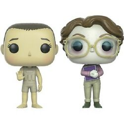 Pop Stranger Things Upside Down Eleven And Barb 2 Pack Figures Funko