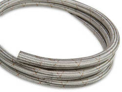 Earls 663308erl Earls Ultra Flex Hose Size -8 Stainless Steel Braid - 33 Ft