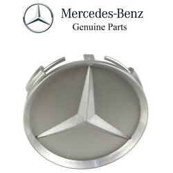 For Mercedes W124 W126 R129 W140 Center Hub Cap For Alloy Wheel 75mm Gray Oes