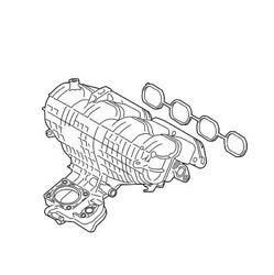Intake Manifold Assembly Genuine For Lexus Ct200h Toyota Prius Plug-in V 1.8l L4