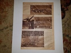 Harvard And Yale University Football Game 1922 Mw Pictorial Sheet