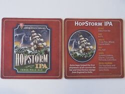 Beer Bar Coaster Bj's Brewhouse Brand Hopstorm India Pale Ale National Chain