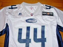 Vtg Chicago Rush 44 Bob Mcmillen Afl Football Team Issue Jersey Arena L Mint
