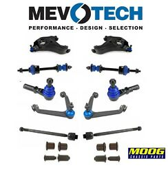 For Dodge Ram 1500 ST 2WD Tie Rod Ends Sway Bar Links Ball Joints Control Arms
