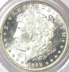 1888-o 1 Ms65pl Pcgs-rare-only 12 In Higher Grade-pq And White - Morgan