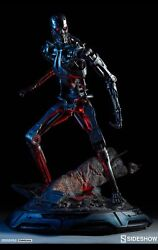 Sideshow 1/4 Terminator T-800 Endoskeleton Exclusive Maquette 98 Of 300 Sold Out