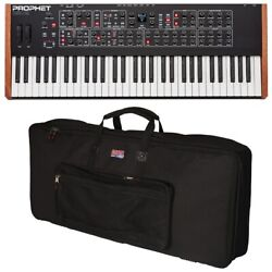 Dave Smith Instruments Sequential Prophet Rev2 16-voice Synthesizer Carry Bag...