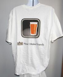 New Mens Old Chicago Craft Beer Tour T Shirt 2012 Tap How I Make Friends 3xl