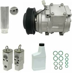 RYC Remanufactured Complete AC Compressor Kit A002 (GG334)