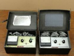 Lot of (2) Vintage Robinair 12860 Temperature Tester Air Conditioning Tools