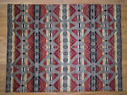 8and03910x11and0397 Hand-knotted Pure Wool Southwestern Design Oriental Rug R40801