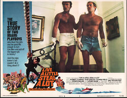 Live A Little Steal A Lot Orig 1975 Lobby Card Poster Robert Conrad/don Stroud