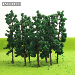 20pcs Model Train Layout O Scale 150 Model Tower Trees 12cm Iron Wire D11040