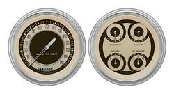 1951-1952 Chevrolet Chevy Direct Fit Gauge Nostalgia Ch51nt52