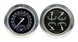 1954-1955 Chevrolet Chevy Truck Direct Fit Gauge Traditional Ct54tr62