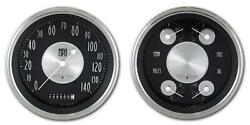 1947-1953 Chevy Gm Pick-up Direct Fit Gauge American Tradition Ct47at52