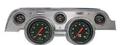 1967-1968 Ford Mustang Direct Fit Gauge Hot Rod Mu67hrba