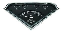 1955-1959 Chevrolet Chevy Truck Direct Fit Gauge Black Tf01b