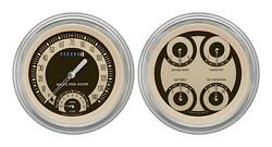 1951-1952 Chevrolet Chevy Direct Fit Gauge Nostalgia Ch51nt62