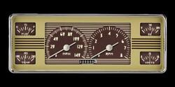 1940 Ford Direct Fit Gauge White Hot Fc40wh