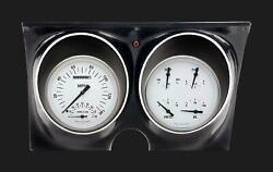 1967 1968 Camaro Classic Instruments Direct Fit Gauges White Hot Cam67wh