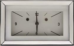 1957 Chevrolet Chevy Clock White Ch57clw