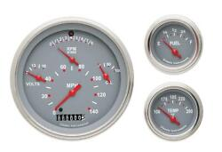 1957 Chevrolet Chevy Direct Fit Gauge Gray Ch01gslf