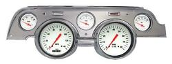 1967-1968 Ford Mustang Direct Fit Gauge White Hot Mu67whba