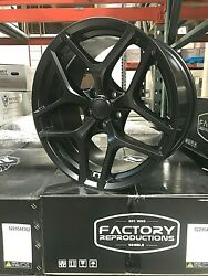 Fits 20 10 And 11 Z28 Staggered Satin Black Wheels Rims For Camaro 5th And 6th Gen