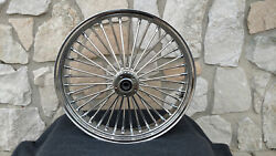 18x3.5 Dna Fat Spoke Mammoth Rear Wheel 08-up For Harley Heritage Deluxe