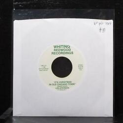 Lisa Atkinson - It's Christmas In Old Chicago Town 7 Vg+ Vinyl 45 Priv Lbl 102