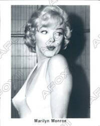 1990 Great Busty Shot Of Famous Actress Marilyn Monroe Press Photo