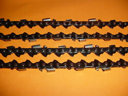 32 .404 .058 Gauge Chainsaw Chain 100 Drive Links Full Chisel New ---- Down 61