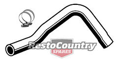 Ford Service Lower Radiator Hose + Clamps Xd Xe V8 302 351 4.9 5.8 Rubber Pipe