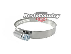 Stainless Steel Worm Band Hose Clamp X1 40mm - 64mm Top Quality Radiator Rubber