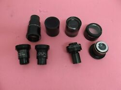 SET OF LENS OPTICAL GAGING PRODUCTS PULLED FROM OGP CONTOUR PROTECTOR XL14