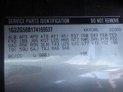 07 08 OUTLOOK ENGINE CONTROL MODULE ECM ELEC CONT UNIT ECU BEHIND FAN SHROUD