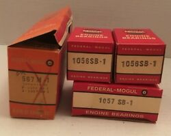 1946-53 Ford Tractor 4 Cyl Nos Engine Main Bearing Set Federal Mogul 567 M-1